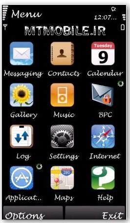 نرم افزار جالب تغییر فونت مخصوص گوشی های نوکیا سری 60 نگارش پنـجم